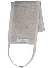 Linen & Cotton Luxury Natural Bath Shower Body Brush Back Washer/Scrubber for -