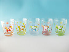 HELLO KITTY SANRIO Glass Tumbler Butterfly Can Case Japan Gentei Limited Kawaii