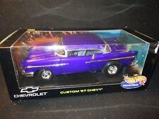 Mattel Hot Wheels Custom '57 Chevy 1:18 - Deep Purple
