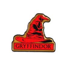 Genuine Warner Bros Harry Potter Gryffindor Sorting Hat Hogwarts House Pin Badge