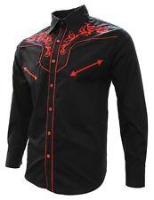 Cowboy Western Shirt El Señor de los Cielos Embroidered Camisa Vaquera Bordada