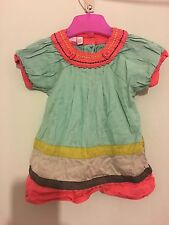 Baby Girls Monsoon Summer Striped Blouse Top 3-6m🍭
