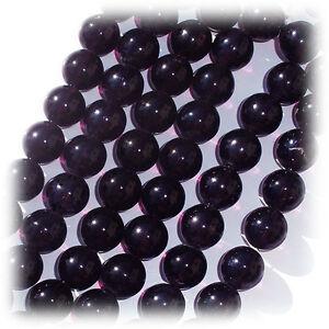 Perles de Bohème Dark Améthyste 12 mm 20pcs