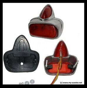 Piaggio Vespa rot Rücklicht Antik GS PX 80 125 150 200 E V50 N Special PK S XL