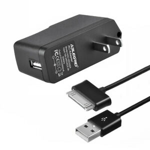 Tablet Charger + USB Sync Cable for Samsung Galaxy Sgh-I497 Gt-P7510 Sgh-t869