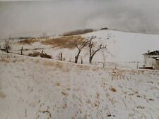 """New listing ANDREW WYETH """"FENCE LINE"""" COLLOTYPE PRINT 271/300 Metropolitan Museum of A"""
