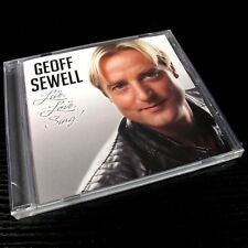 Geoff Sewell - Live, Love, Sing! AUSTRALIA CD Sealed NEW #14-4