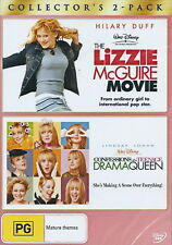 The Lizzie McGuire Movie / Confessions Of A Teenage Drama Queen - NEW DVD