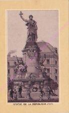 Chromo LA CHARLENTINE PARIS Statue de la République