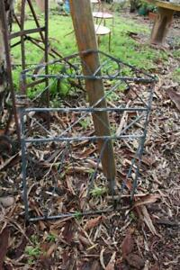An Old Vintage Wrought Iron Gate