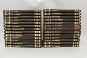 26 x THE OLD WEST By Time-Life Books, 1970s, Hardback, Good Condition - B25