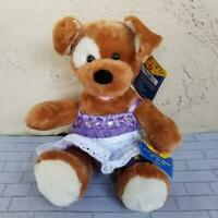 Build A Bear Brown Sugar Puppy with tags and clothes children toy stuffed Play