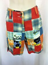 WOMENS LOUDMOUTH MAUI-WS GOLF TENNIS SHORTS SIZE 0 COLORFUL NWT