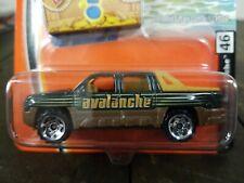 Matchbox Treasure Chest #46 Chevrolet Avalanche Green 2005