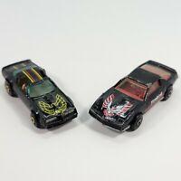 Lot of 2 Vintage 1982 Matchbox Pontiac Firebird SE & 1977 Hot Wheels Hot Bird