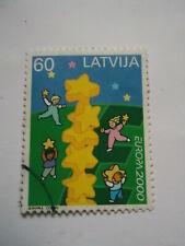 2000 Latvia Europa used Mi.494