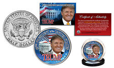DONALD TRUMP 45th President 2016 OFFICIAL U.S. JFK Half Dollar Coin WHITE HOUSE