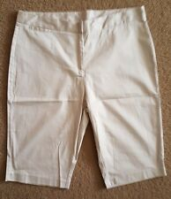"""MILLERS""- BNWT - Size 18- ""Cobblestone/Beige"" Soft Knee High Pants, Coin Pocket"