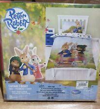 Next Peter Rabbit Kids Single Duvet Cover Pillowcase Bed Set Bedding New