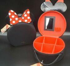 Disney Minnie Mouse Schmuck / Kosmetik Koffer Hard Case mit Spiegel Vanity Case