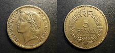 Etat Français - 5 francs Lavrillier 1940 - F.337/4