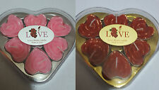 Unbranded Heart Shaped Candles & Tea Lights