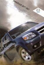 Prospekt / Brochure Mazda BT-50 12/2008