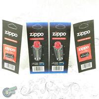 GENUINE 12 FLINTS + 2 WICKS for Zippos Blu Fluid Lighter FLINT WICK Refill pack