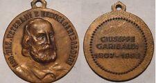 medaglia a ricordo della morte di garibaldi 1882