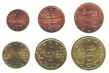 Grecia 2002-Maxi Set di 6 monete in Euro (UNC) ** RARO **