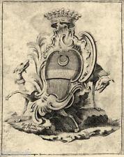 EX-LIBRIS de Jacques FALQUET DE PLANTA. Dauphiné.