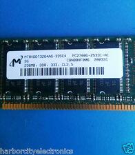 MT8VDDT3264AG-335C4 MICRON DRAM MOD DDR SDRAM 2GBIT 184 PIN UDIMM