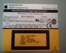 AppleCD 600i Apple Computer November 1995 SEJ SCSI 678-0065 Drive CD