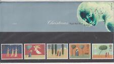 GB 1996 Navidad Ángeles presentación Pack 272 SG 1950 - 1954 juego de sello de menta