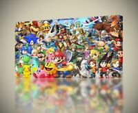 32in x 22in Ultimate Poster FAST SHIPPING Super Smash Bros
