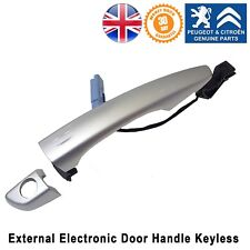 Citroen C4 Picasso DS5 Exterior Door Handle Keyless Front Right Genuine New Grey