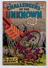Challengers Of The Unknown #10 3.0 1959 Cream/Off-White Pages