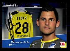 Alexander Stolz Autogrammkarte TSG Hoffenheim 2013-14 Original Signiert+A 162108