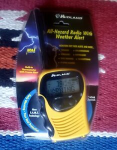Midland Portable All Hazard Radio S.A.M.E with Weather Alerts NEW SEALED