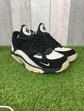 Nike Air Huarache Para Hombre Baja Zapatillas Negro/Blanco - 749447-004 Size UK 11