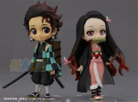 Demon Slayer Kimetsu no Yaiba Kamado Nezuko&Tanjirou Q Ver Figure Toy In Stock