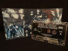 CRADLE OF FILTH THE PRINCIPLE OF EVIL MADE FLESH / 1995 / MC CASSETTE