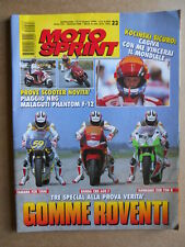 MOTOSPRINT n°23  1994       [Q18]  TEST YAMAHA FZR 1000 HONDA CBR 600 f