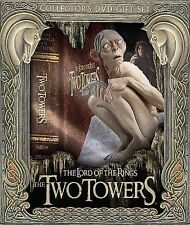 The Lord of the Rings - THE TWO TOWERS Collector's DVD Gift Set with GOLLUM FIG