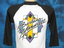 NOS vtg 80s BARBARA MANDRELL PAPER THIN CONCERT JERSEY T-Shirt S country tour