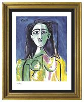 "Pablo Picasso ""Portrait Jacqueline"" Signed/Hand-Number Ltd Ed Print (unframed)"