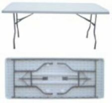 LONG SOLID MOULDED TABLE 183X76X73 CM for Outdoor Camping Garden BBQ Party