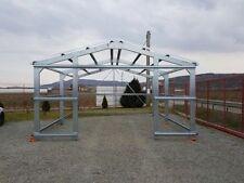Lagerhalle Stahlkonstruktion Garage Leichtbauhalle 6m x 3,5m x 2,5m