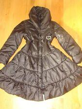 ❤️Designer Monnalisa STUNNING Girls Winter Black Coat age 10 yrs❤️❤️