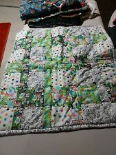 """Hand Tacked Baby Quilt 32"""" X 30"""""""